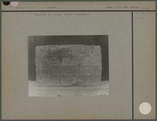 Inscription sud arabique d'époque indéterminée