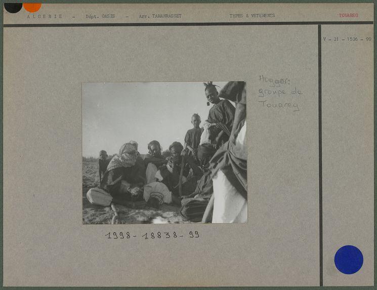 Groupe de Touareg du Hoggar
