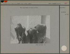 Trois types namchi du village de Erkwo