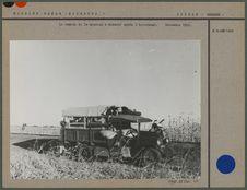 Le camion de la mission à Gedaref après l' hivernage
