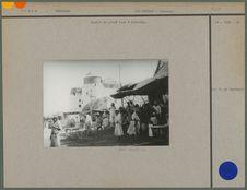 Partie du grand souk à Hodeidah