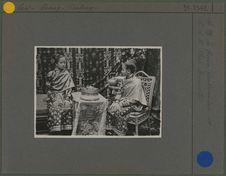 Sa majesté la Reine Cao Kam Tam et S.A.R. Chao Sannathi