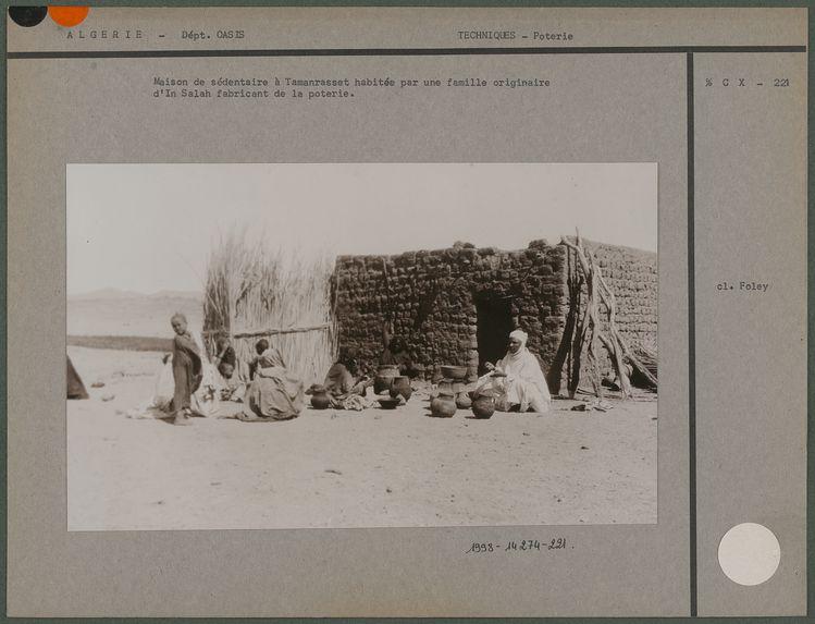 Maison de sédentaire à Tamanrasset