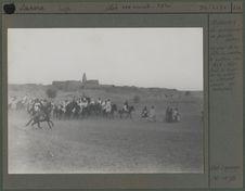 Agadez, la mosquée en pierres sèches, fête du mouton