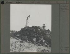 Tumulus ancien à Iférouane (Aïr)