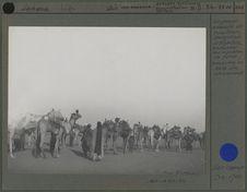 Groupe de nomade de tirailleurs sénégalais d'Agadez