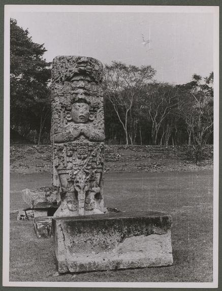 Copan. Stèle