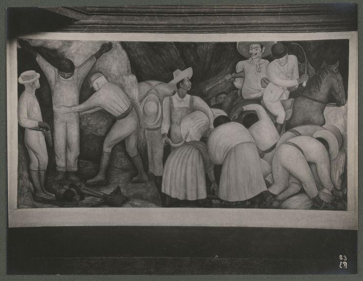 Peintures murales de la chapelle Diego Rivera à Chapingo