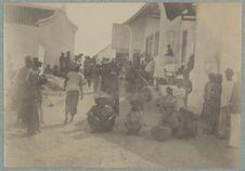 Compang (Timor), marché