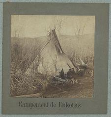 Campement de Dakotas
