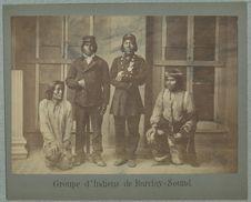 Groupe d'indiens de Barcley Sound