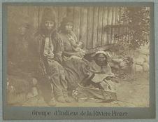 Groupe d'indiens de la Rivière Frazer