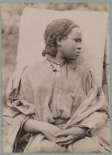 Atké, femme amhara de Tegoulet