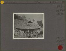 Maison de paysans tibétains