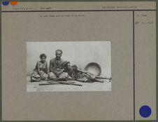 Sans titre [le chef Lambo avec sa femme et sa fille]