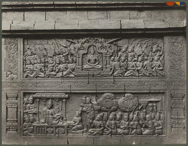 Sans titre [bas-relief d'un temple]