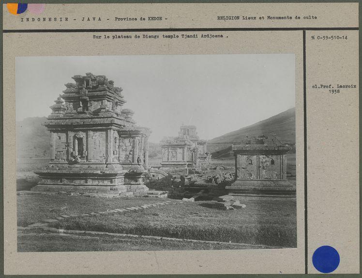 Temple Tjandi Ardjoena