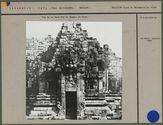Vue de la face Sud du Temple de Siva