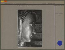 Wat (Temple) Pothi : tête de Bouddha couché