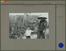 Vietnamienne et enfant