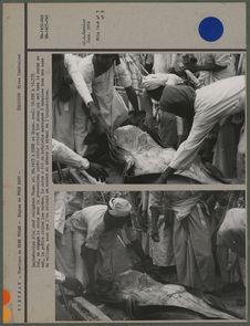 Incinération d'un chef religieux cham