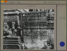 Bas-relief du temple