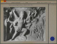 """Détails de paroi du temple brahmane de """"Kailas&quot"""