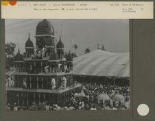 Fête du dieu Jagannath : 16) le char