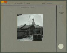 Cour d'habitation à Bodnath