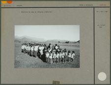 Ecoliers du camp de réfugiés tibétains