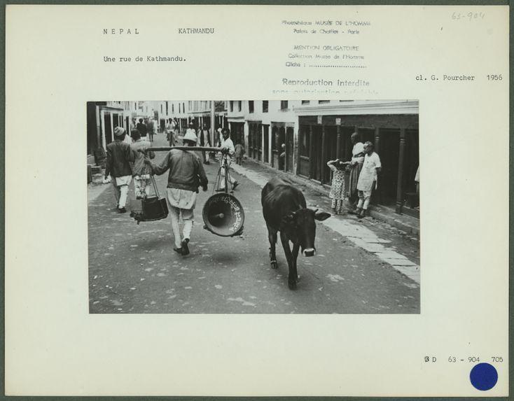 Une rue de Kathmandu