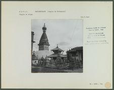 Temple et stupa