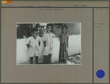 Enfants brahmines vishnouites
