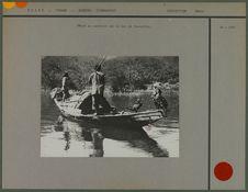 Pêche au cormoran sur le Lac de Yunnanfou