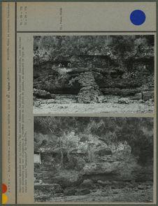 Sépultures creusées dans la falaise