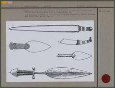 Comparaison entre épées et couteaux, Chine et Sibérie