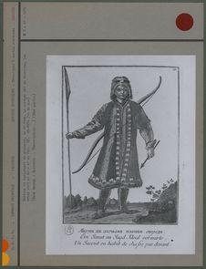 Costume et équipement de chasseur