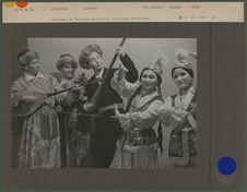 Etudiants du Technicum Musical et dramatique d'Alma-Ata