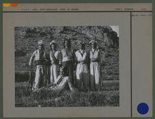 Groupe d'hommes kurdes