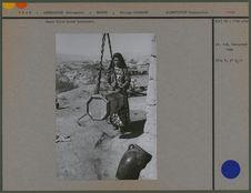 Jeune fille Kurde barattant