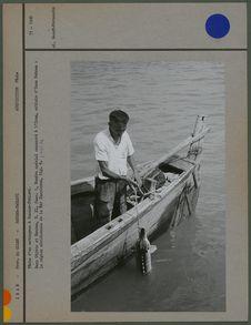 Pêche d'un esturgeon à Bandar-Pahlavi
