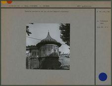 Tourelle construite sur les anciens remparts d'Istanbul
