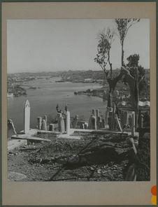 Cimetière d'Eyüp et vue sur la Corne d'Or