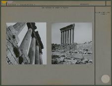 Colonnes du temple de Jupiter
