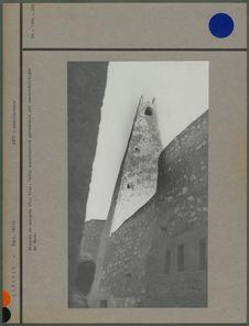 Minaret de mosquée d'un Ksar