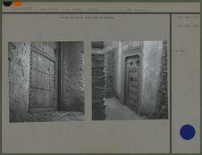 Portes sur rue du vieu Ksar de Kenadsa