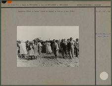 "Espagnols fêtant la ""mouna"" (lundi de Pâques) au bord de la mer"