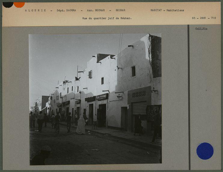 Rue du quartier juif de Béchar