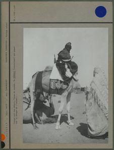 Targui sur son méhari