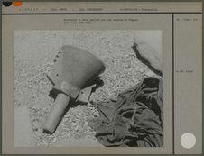 Entonnoir en bois utilisé par les touaregs